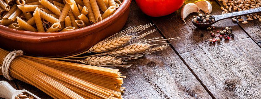 de trigo a massa